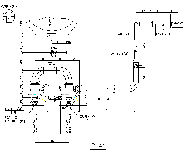 piping layout course in delhi isometric line pump discharge line suction line piping layout course