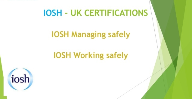 Iosh Managing Safely Training Details Oilandgasclub Com