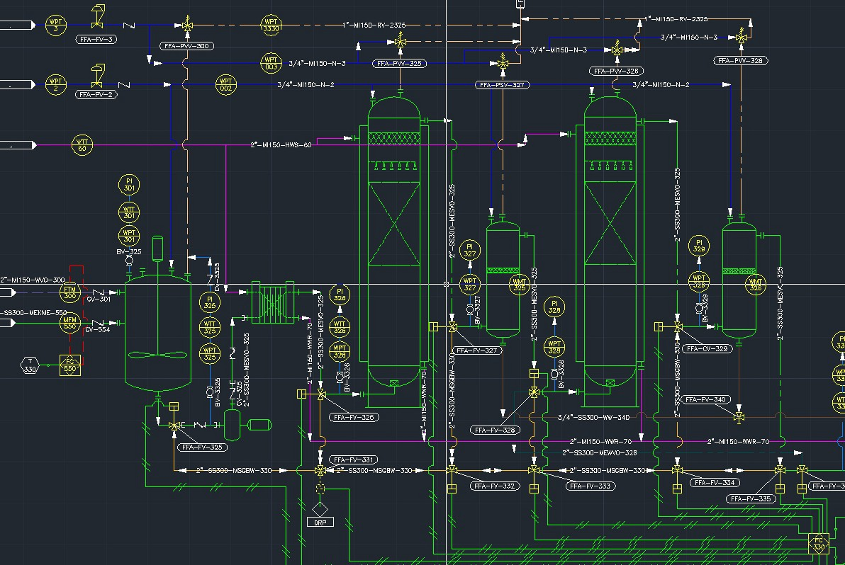 auto wiring diagram symbols with Pid And Pfd on Circuit Schematic Symbols further Basic Blueprint Reading besides 14276 415 likewise Modulating Control Of Fire Smoke D ers In Smoke Control also Basic 3 Wire Alternator Wiring Question 187712.