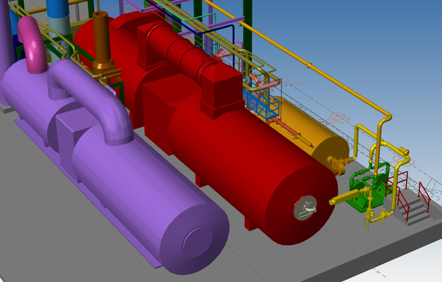 Piping Design Engineering - 3d modelling